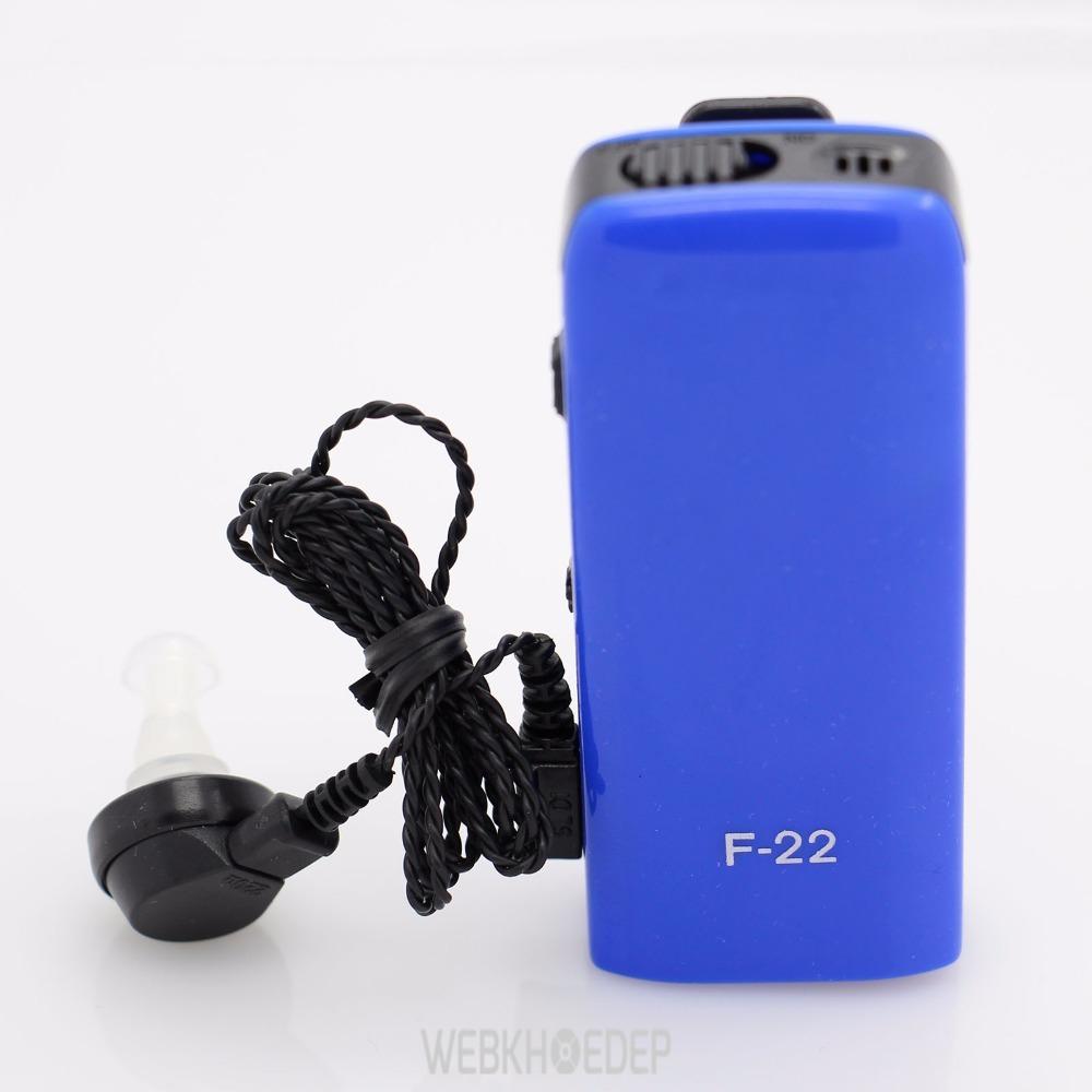 Máy trợ thính Axon F22 hỗ trợ thính lực cực tốt cho người khiếm thính, người cao tuổi sức nghe kém