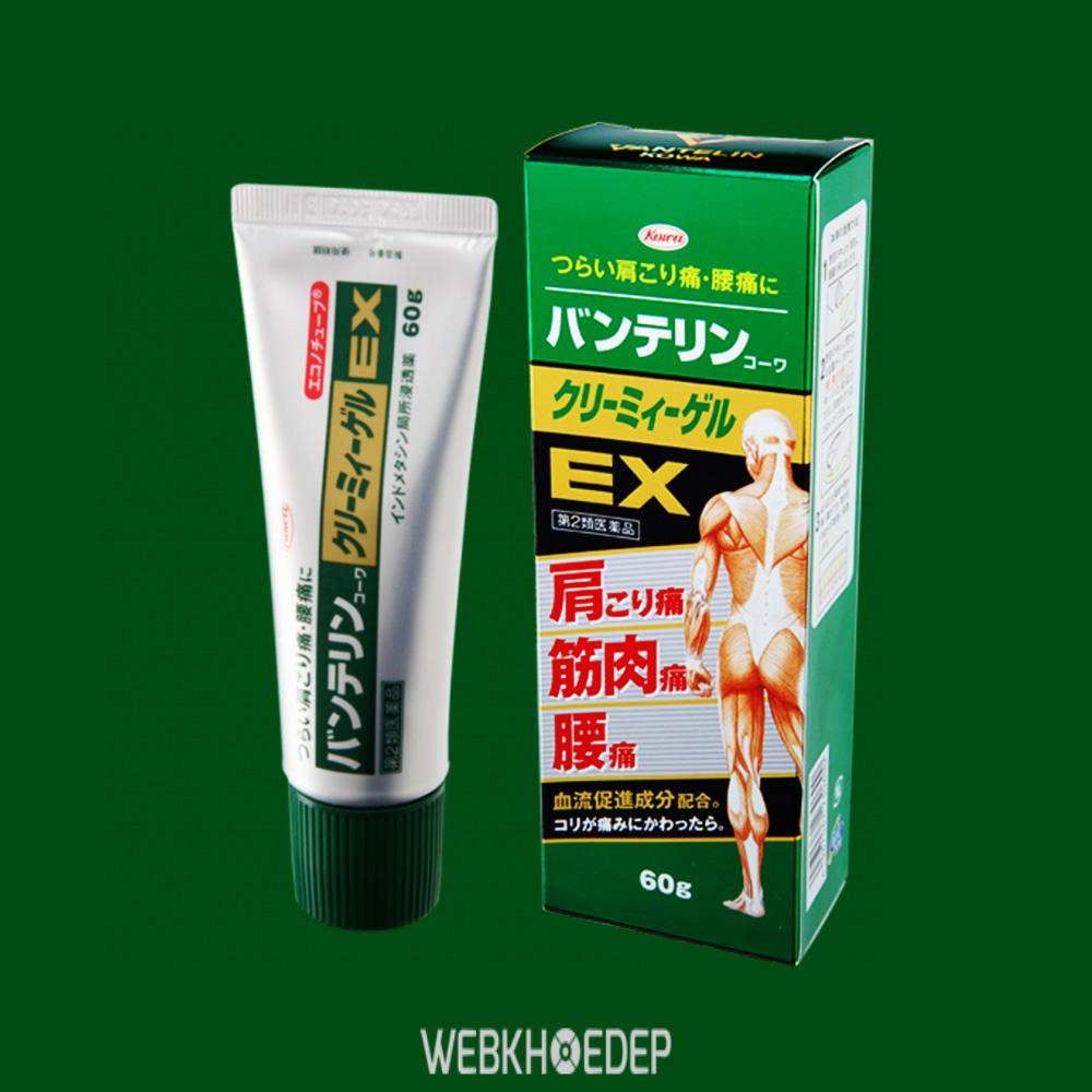 Tuýp Vantelin - Kowa Creamy Gel EX hỗ trợ xương khớp