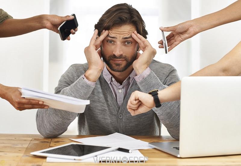 Nam giới sẽ cảm thấy mất tập trung và đau đầu liên tục