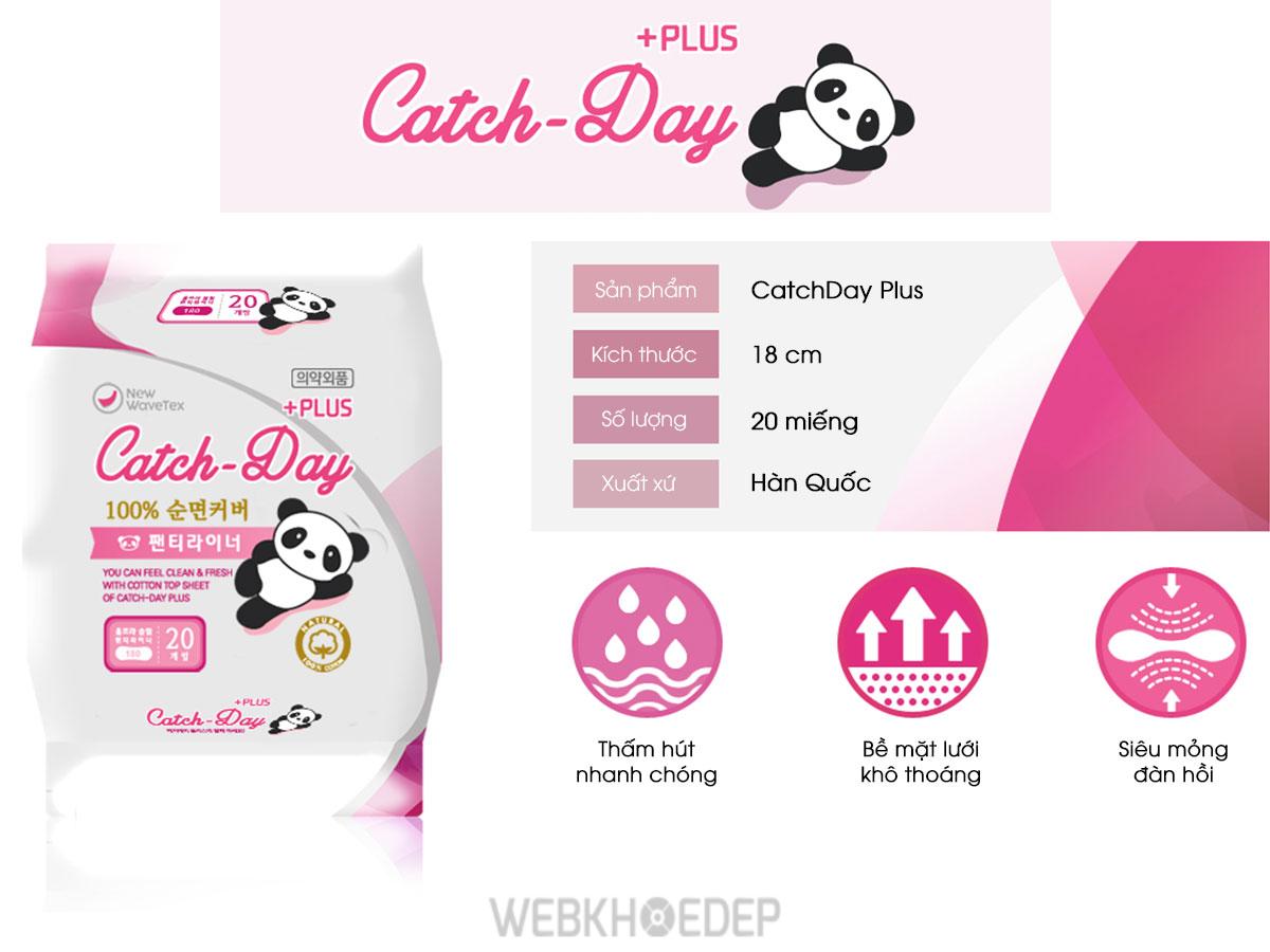 Băng vệ sinh ban ngày Catch - Day