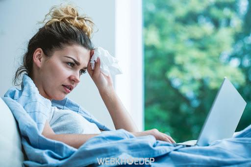 Nhiễm lạnh, cảm cúm thường xuyên có thể là một biểu hiện thể chất của trầm cảm