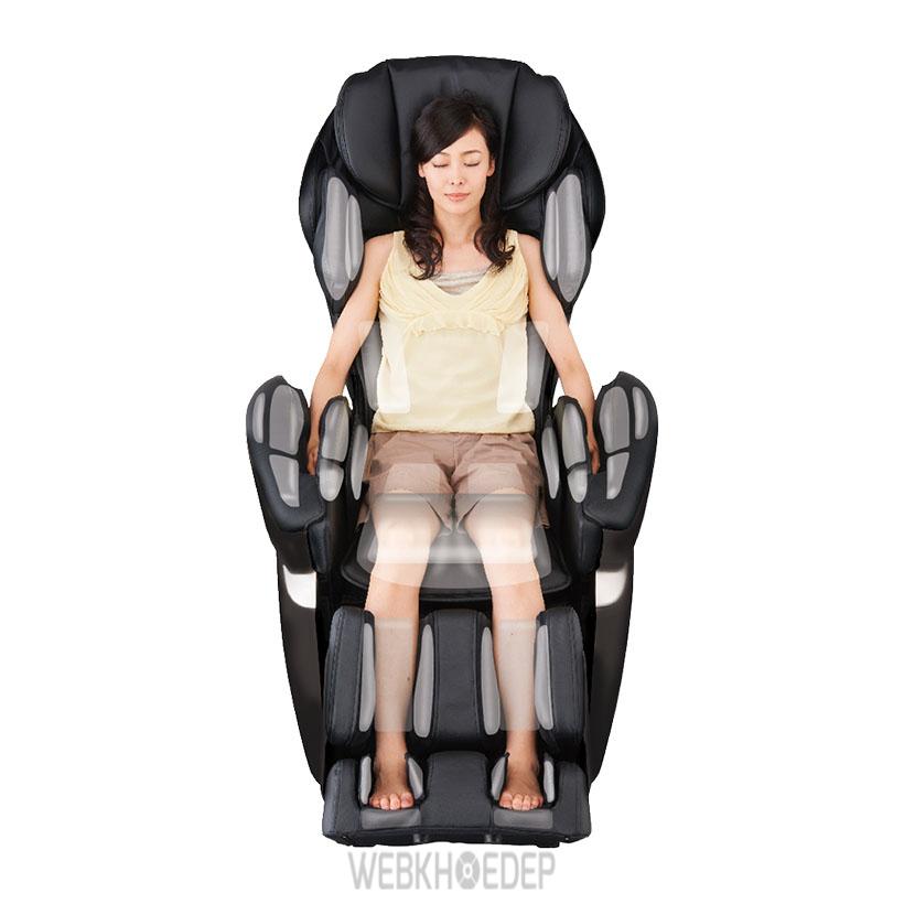 Ghế massage Fujiryoki JP870 giúp tác động sâu vào các vùng cơ trên cơ thể