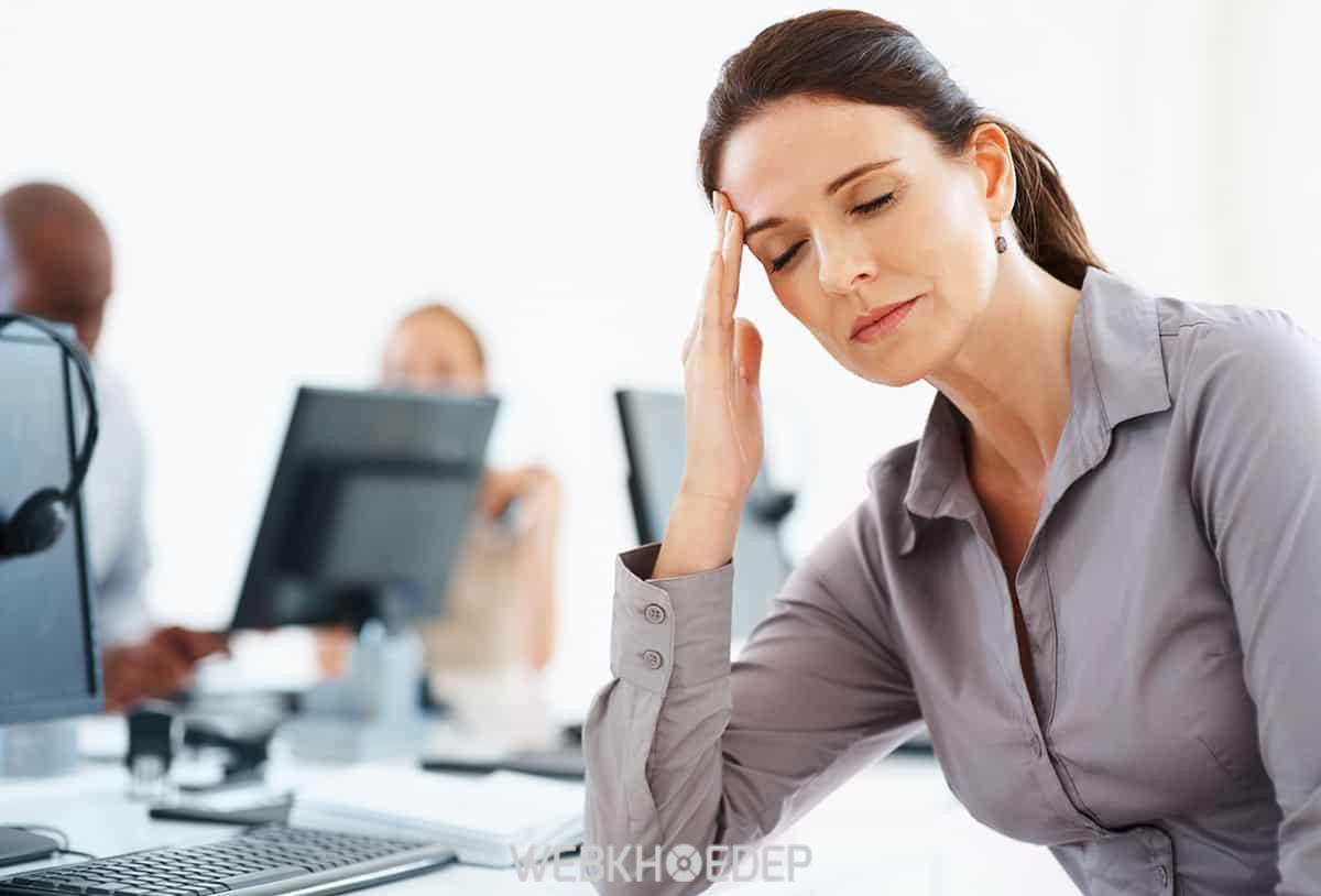 Stress gây ra căng thẳng làm ảnh hưởng tới các mối quan hệ đồng nghiệp