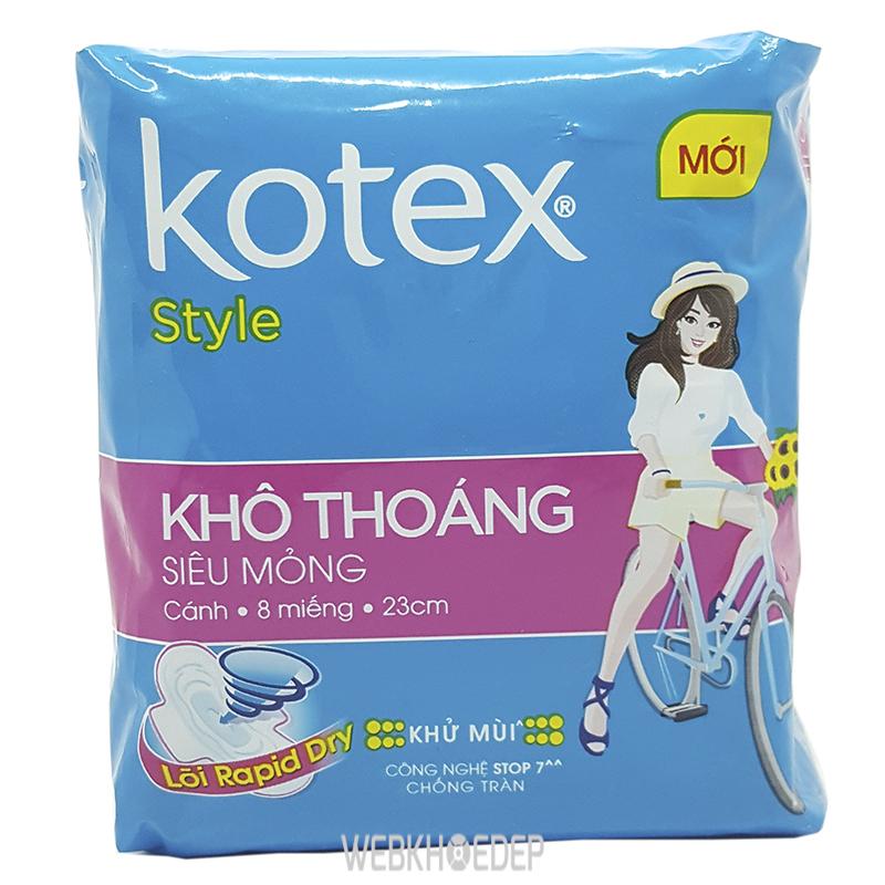Băng vệ sinh Kotex