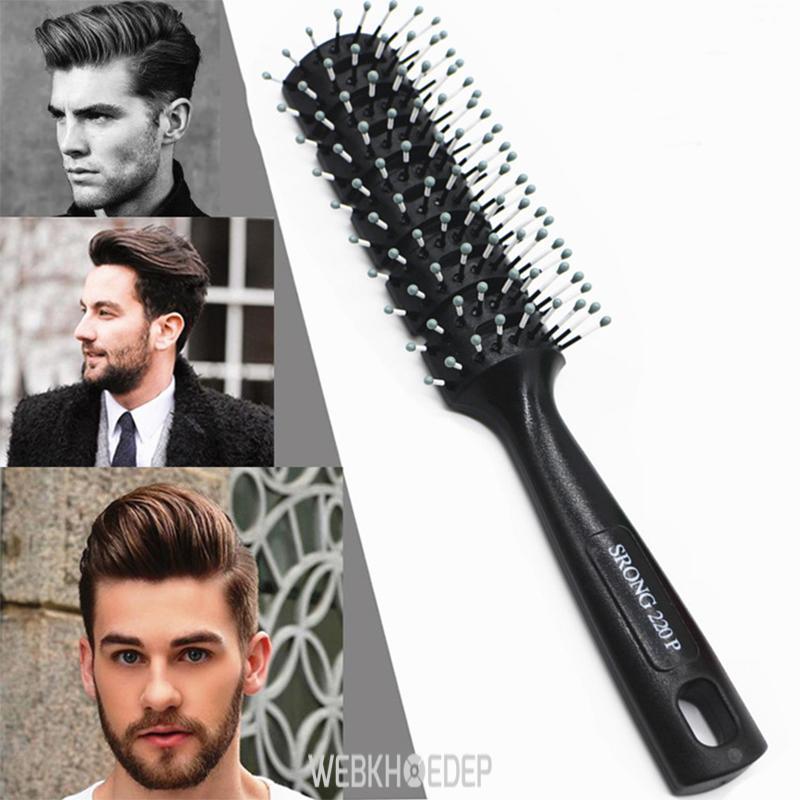 Chải tóc nhẹ nhàng hạn chế tình trạng rụng tóc