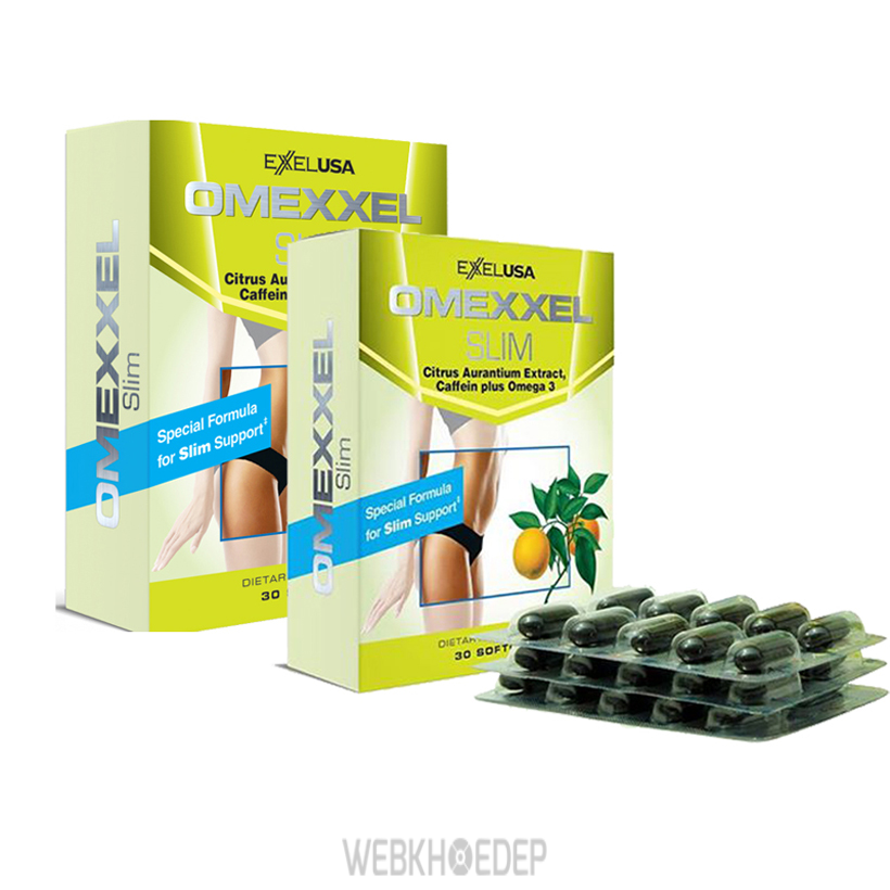 Thực phẩm chức năng Omexxel Slim có khả năng chuyển hóa mỡ, tạo ra nguồn năng lượng cho cơ thể và giảm cân hiệu quả