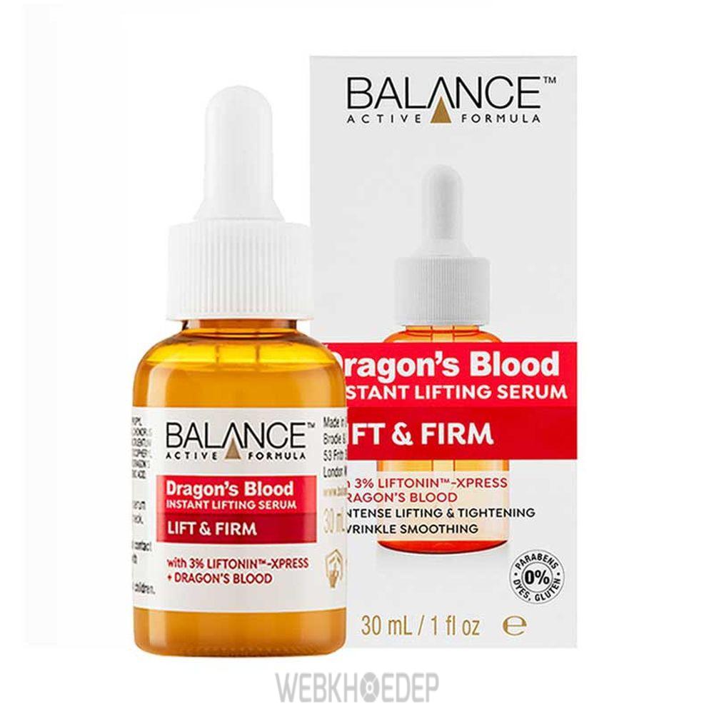 Tinh chất phục hồi da Balance Active Formula Dragon's Blood Lifting Serum