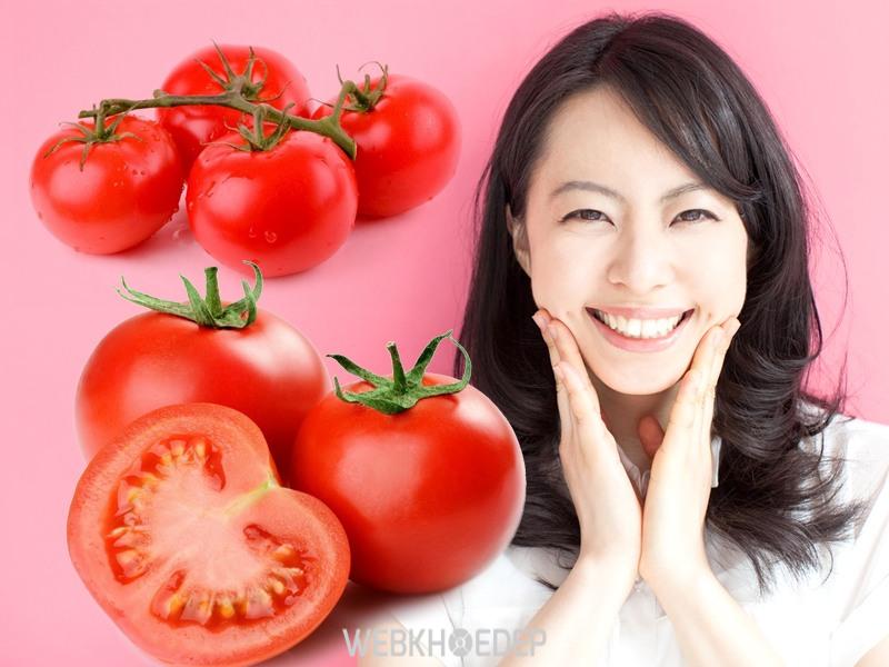 Cà chua vừa tốt cho da vừa tốt cho dáng xinh