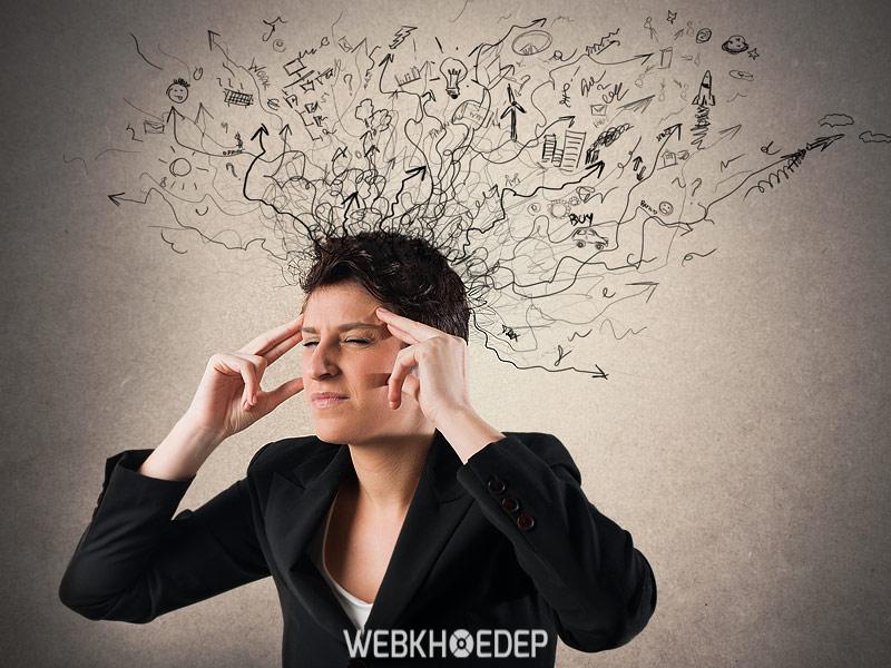 Công việc căng thẳng dẫn tới stress