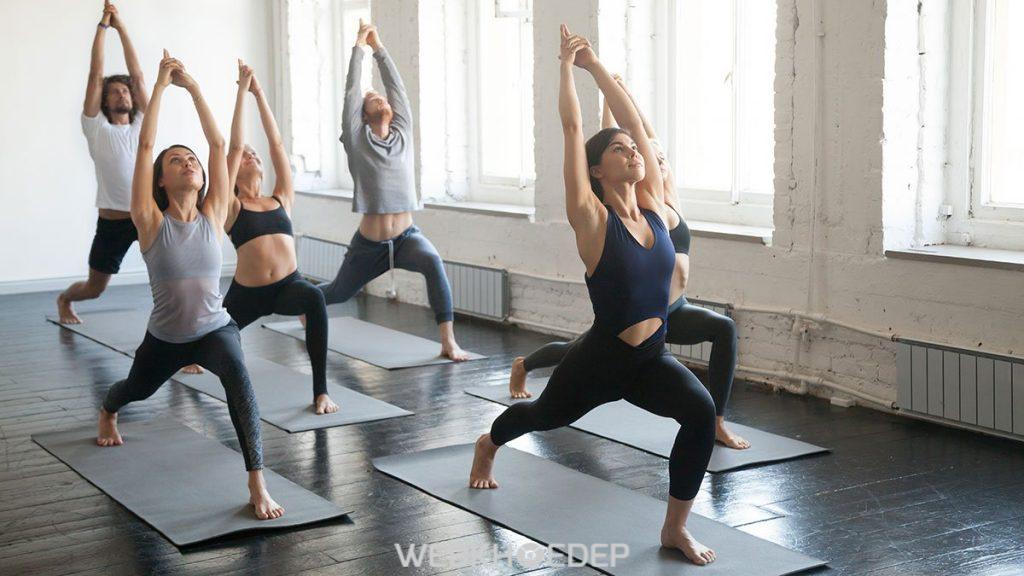 Tập yoga là cách giúp bạn có một cuộc sống khỏe và hạnh phúc