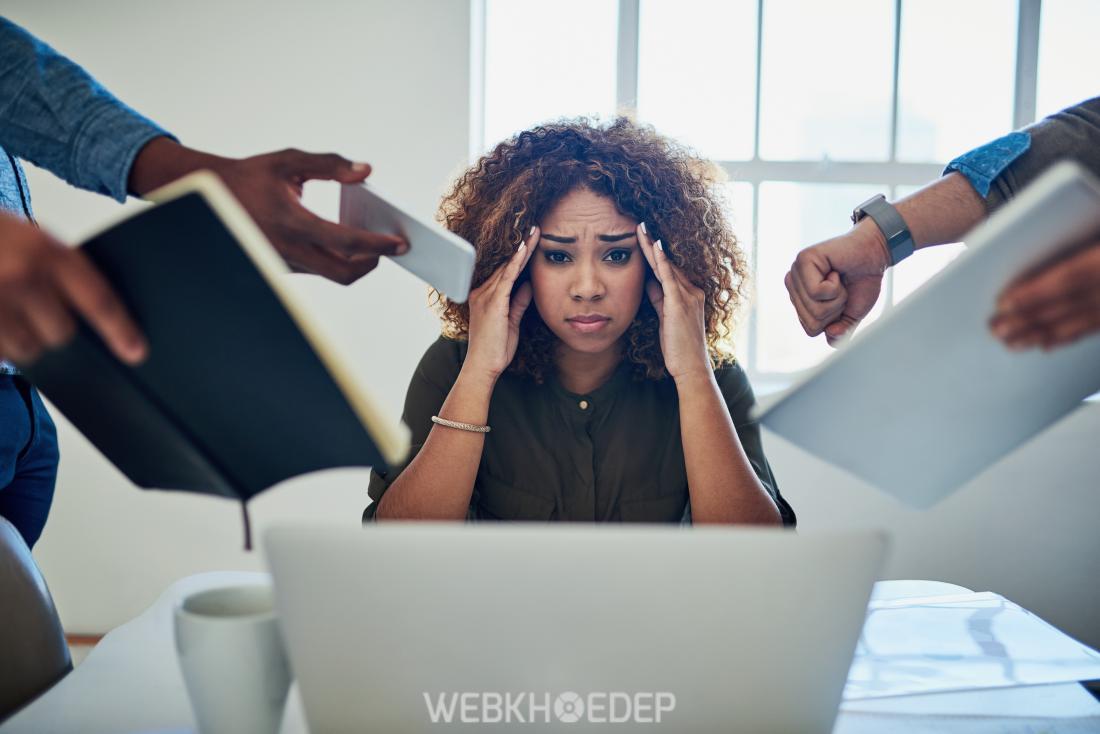 Phụ nữ rất dễ bị stress, căng thẳng và mệt mỏi