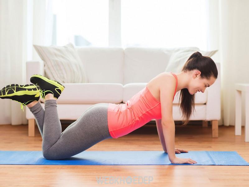 Hãy thực hiện tập cơ bụng đều đặn mỗi ngày để lấy lại vóc dáng của mình