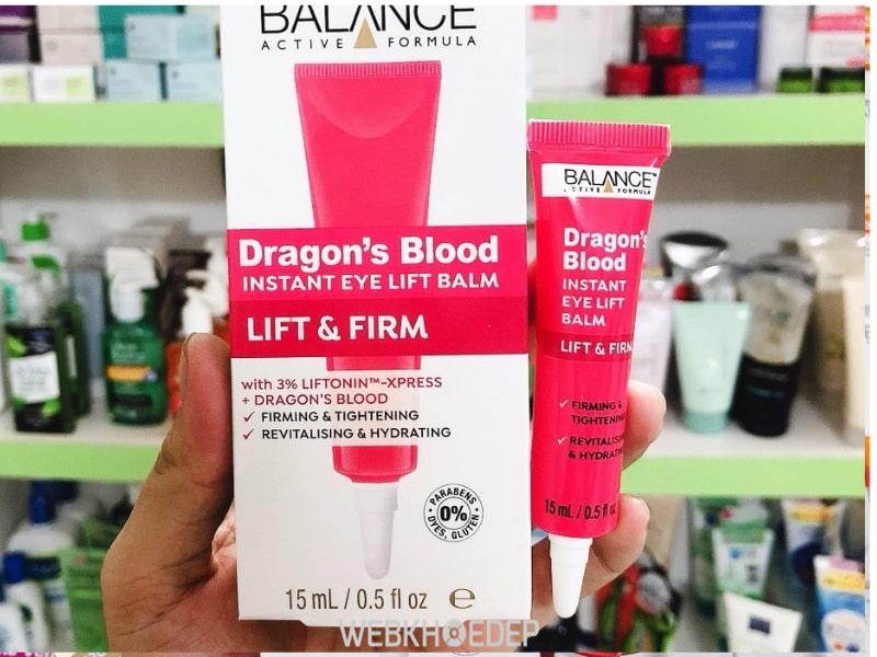 Balance Active Formula Dragons Blood Eye Lift có khả năng chống lão hóa da vùng mắt ưu việt