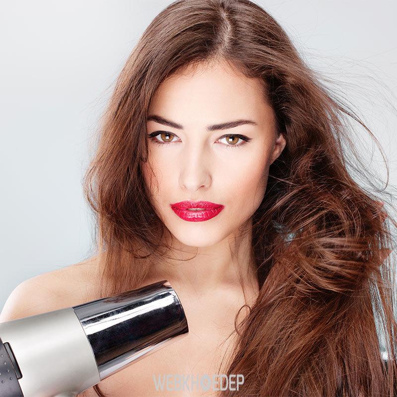 Lưu ý khi tạo kiểu tóc để tóc khỏe mạnh hơn