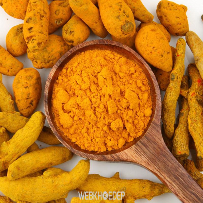 Không nên kết hợp tinh bột nghệ với thuốc giảm cân hoặc thuốc tây