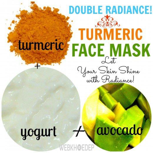 3 loại mặt nạ từ nghệ giúp da trắng sáng rạng rỡ - Hình 2