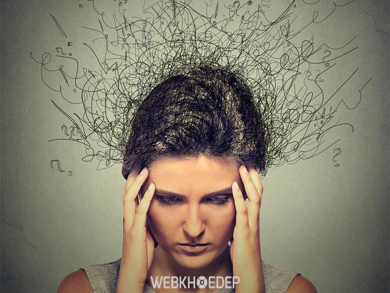 Tâm trí rối loạn khi mắc chứng trầm cảm