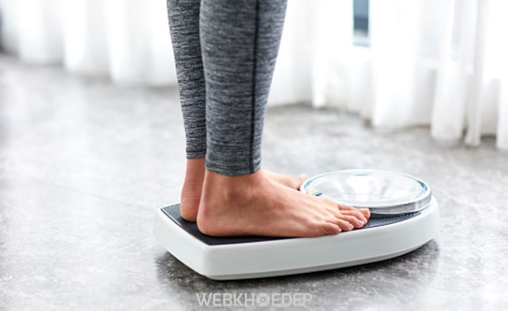 Cơ thể sẽ bị giảm cân một cách đột ngột