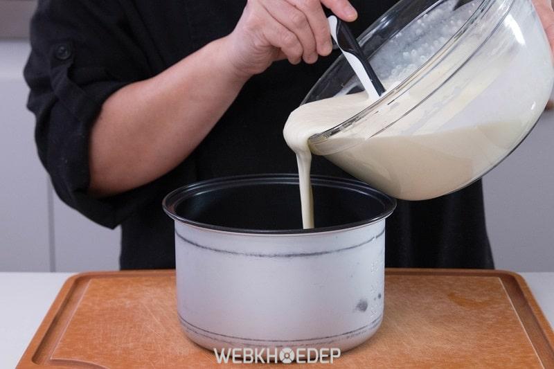 Nồi cơm điện làm bánh là một ý tưởng rất thú vị