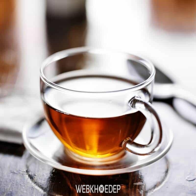 Pha trà từ nấm linh chi nguyên chất