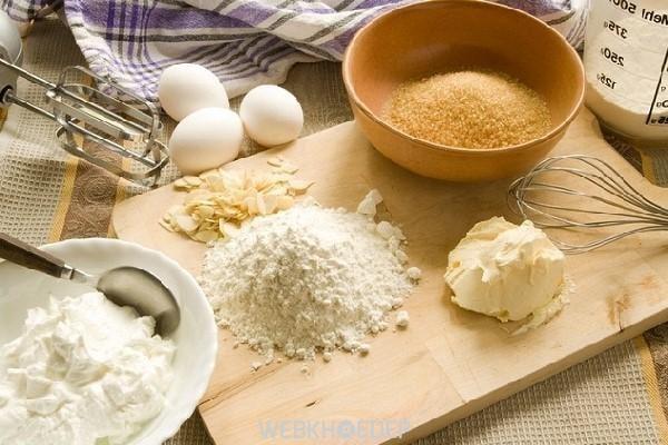 Chuẩn bị nguyên liệu làm bánh tươi mới sẽ giúp bánh ngon hơn