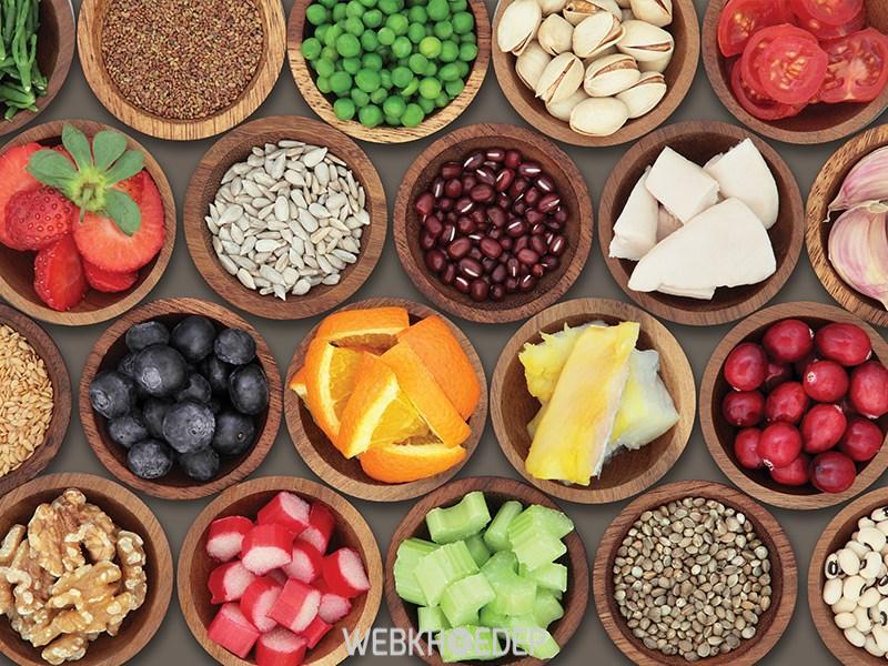 Thực đơn ăn uống đầy đủ các dưỡng chất