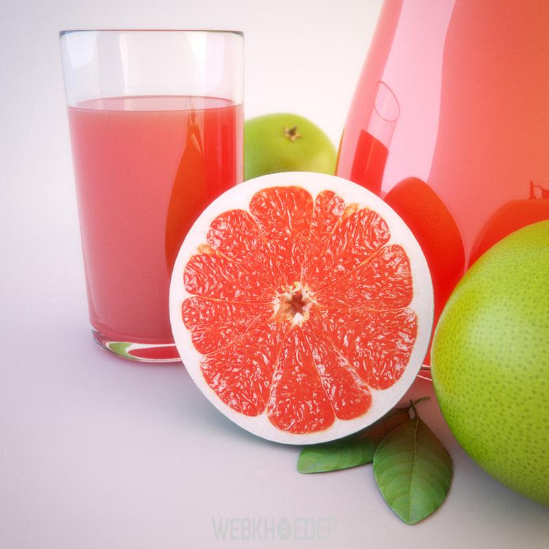 Uống nước bưởi có tác dụng giảm cân