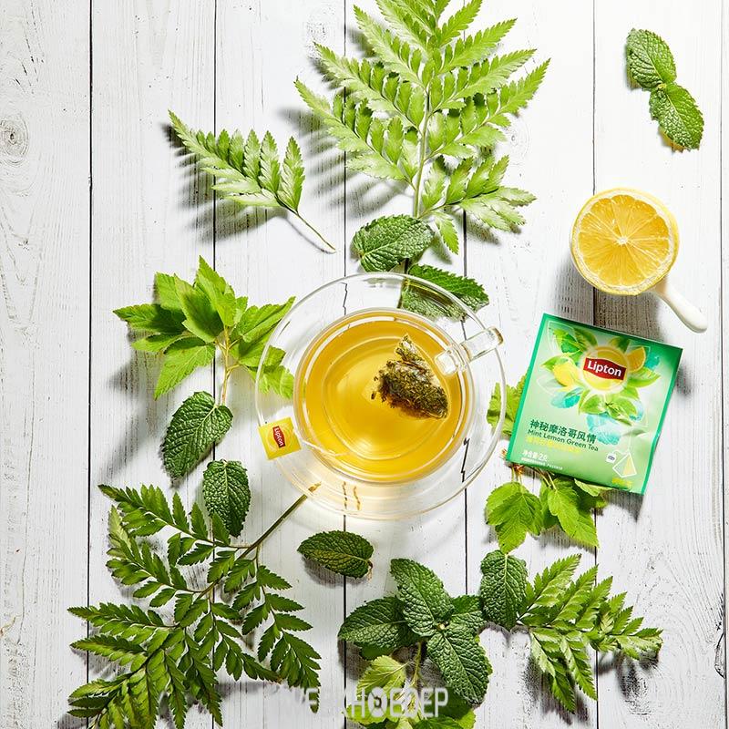 Thay đổi khẩu vị với trà xanh chanh giảm cân