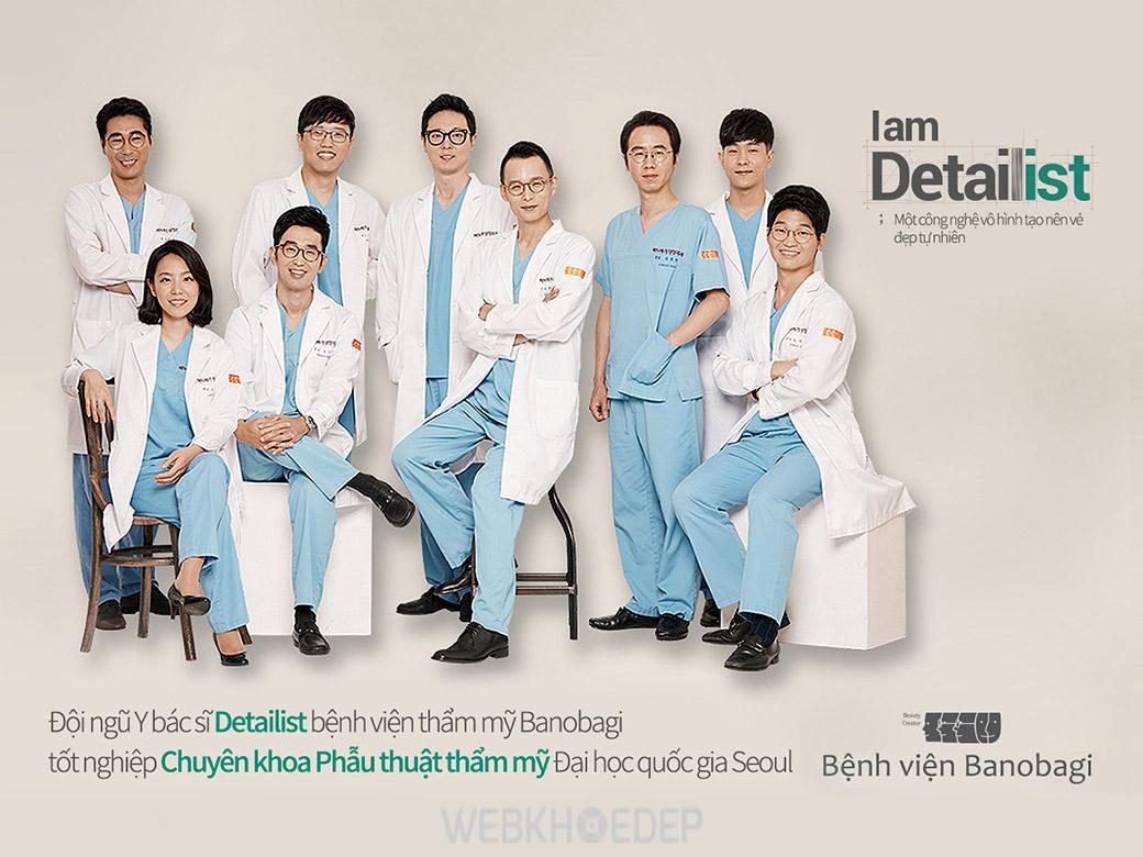 Bệnh viện Banobagi sở hữu đội ngũ bác sĩ giỏi được đào tạo bài bản về phẫu thuật thẩm mỹ và giàu kinh nghiệm