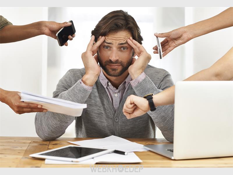 Công việc quá tải dẫn đến căng thẳng