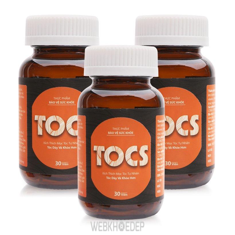 Thực phẩm chức năng hỗ trợ mọc tóc TOCS