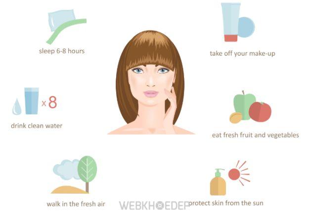 7 bí quyết giúp duy trì làn da trắng đẹp tự nhiên - Hình 1
