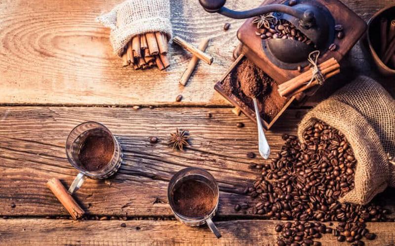 Xay cà phê nguyên hạt tại nhà