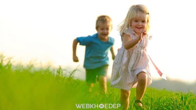 Thể lực tốt giúp trẻ năng động và hoạt bát