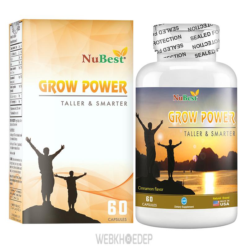 Viên uống tăng chiều cao Nubest Grow Power