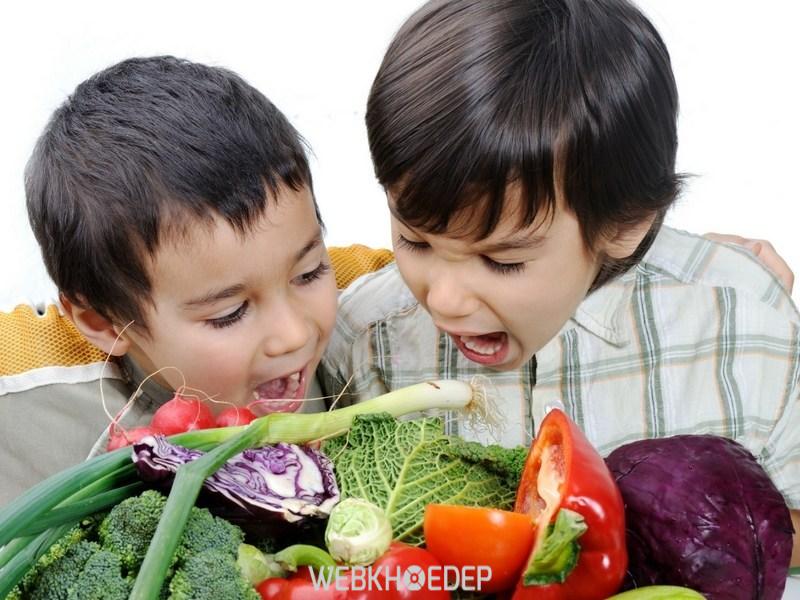 Chế độ ăn nhiều rau củ quả bảo vệ sức khỏe của trẻ tốt hơn