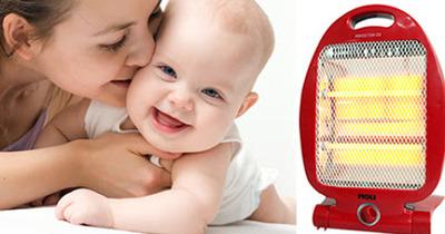 9 đèn sưởi tắm cho bé an toàn phòng chống bệnh hô hấp do nhiễm lạnh