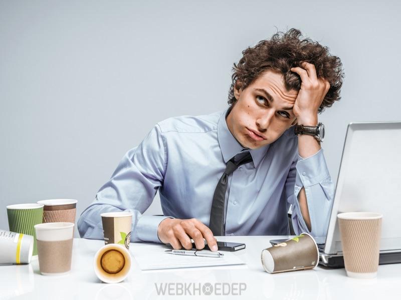 Có nhiều nguyên nhân dẫn đến tình trạng stress trong công việc