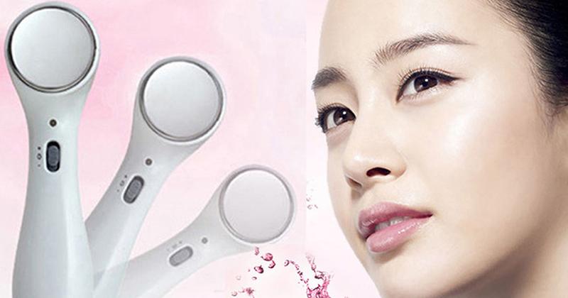 Các loại máy massage mặt tốt xóa nếp nhăn thâm chống lão hóa trị mụn