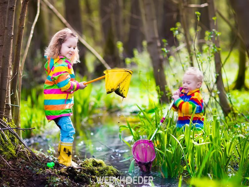 Trẻ em được khuyến khích tiếp xúc với thiên nhiên
