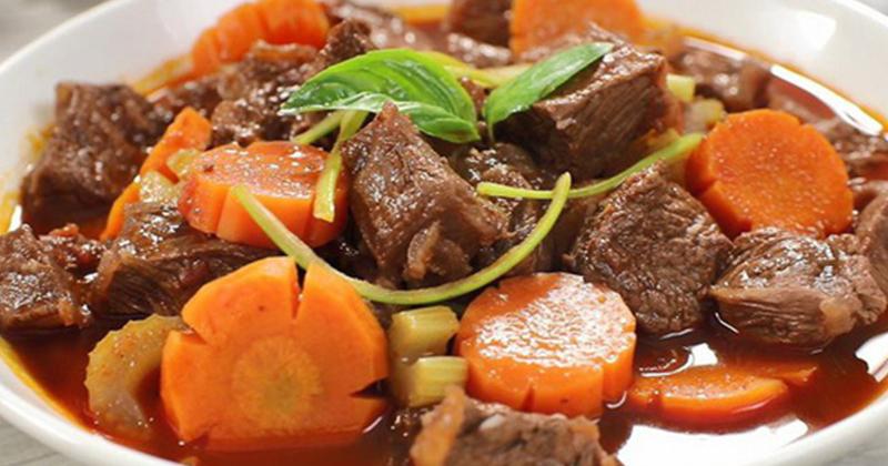 Cách làm món thịt bò sốt vang