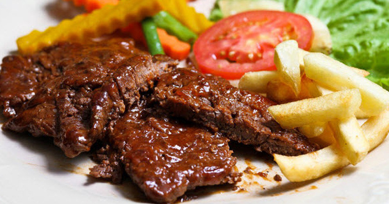 Cách làm thịt bò sốt tiêu đen