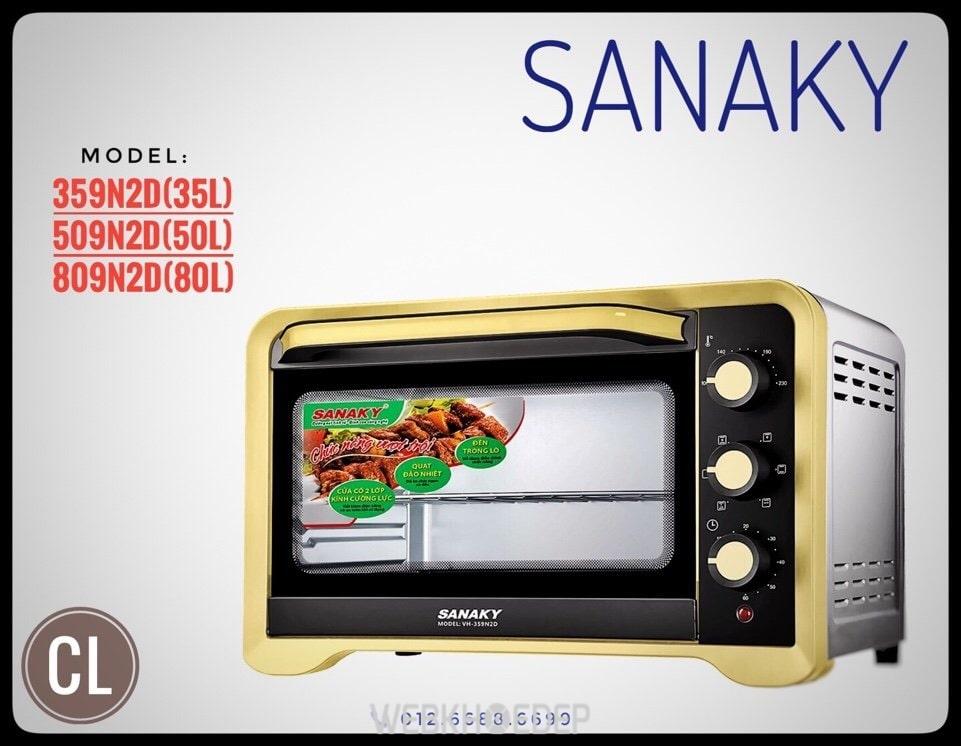Lò nướng điện Sanaky VH-509N2D