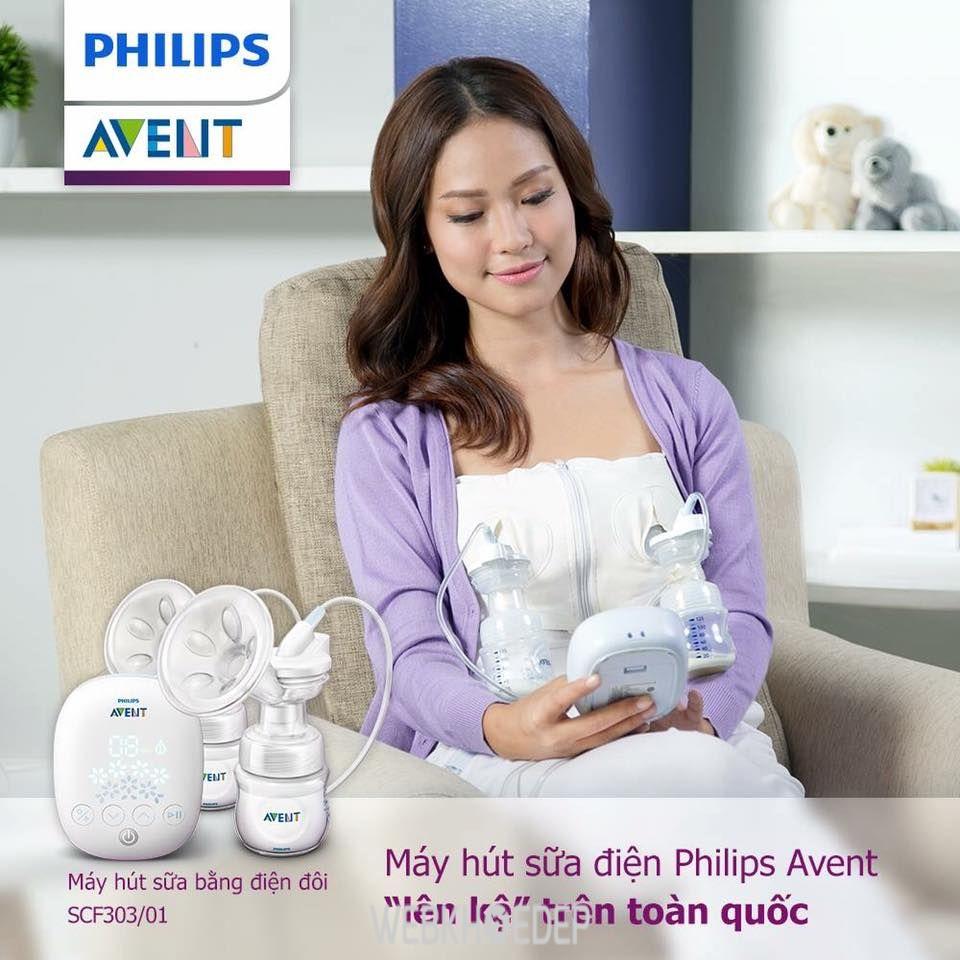 Máy hút sữa Avent thiết kế thông minh, duy trì lượng sữa dồi dào cho bé