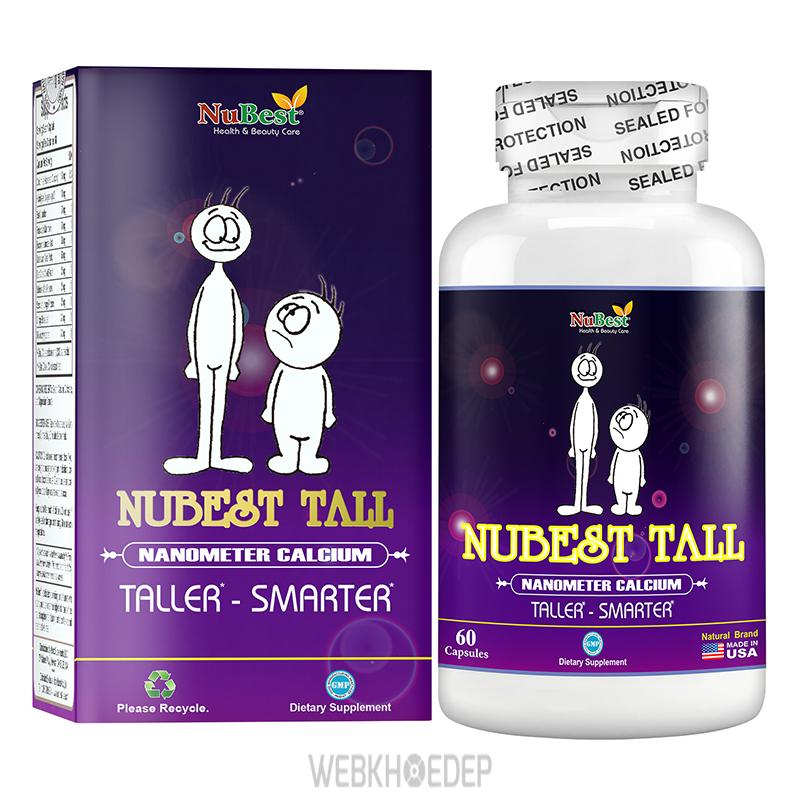 Nên sử dụng thuốc tăng chiều cao Nubest Tall vào trước mỗi bữa ăn 30 phút
