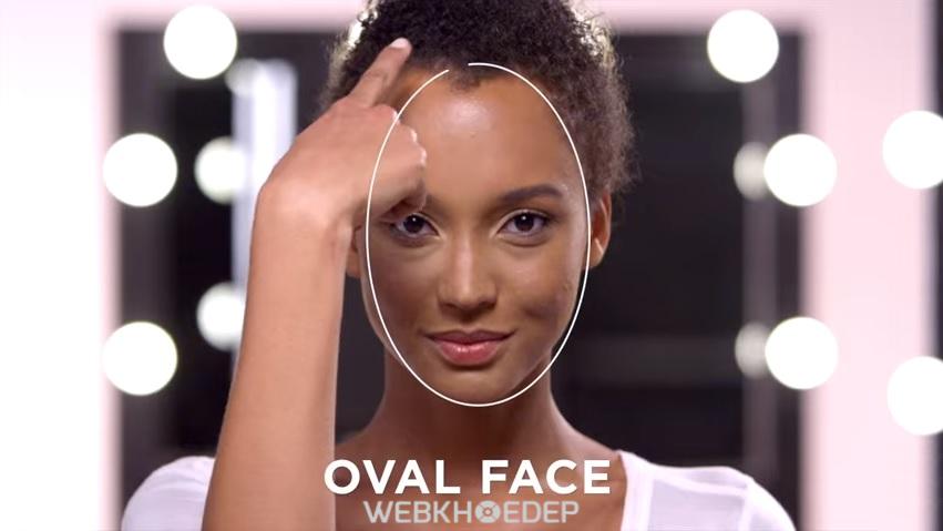 Cách xác định hình dáng khuôn mặt để tạo khối và highlight khi trang điểm - Hình 5
