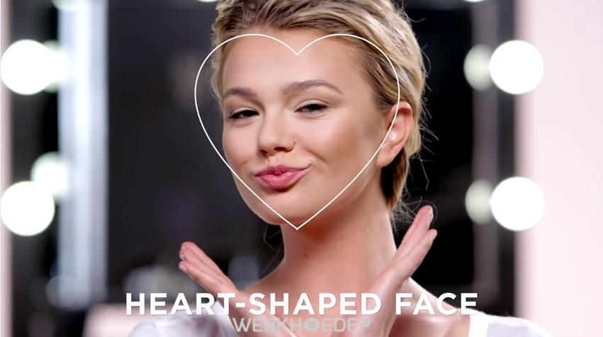 Cách xác định hình dáng khuôn mặt để tạo khối và highlight khi trang điểm - Hình 2