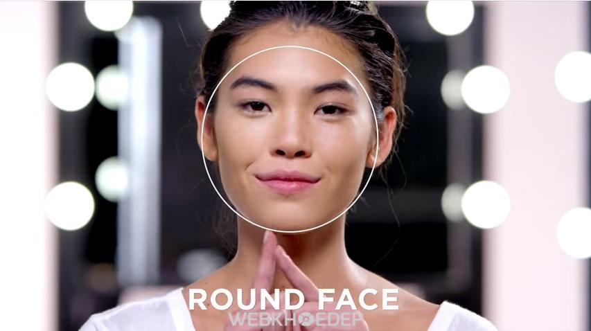 Cách xác định hình dáng khuôn mặt để tạo khối và highlight khi trang điểm - Hình 3