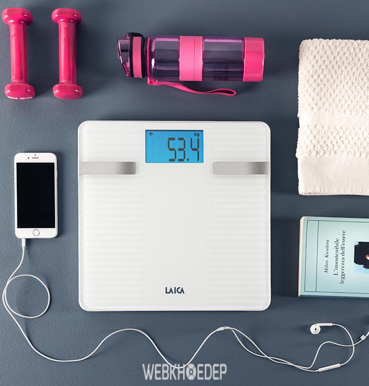 Cân sức khỏe điện tử Laica hiện đại và tiện dụng