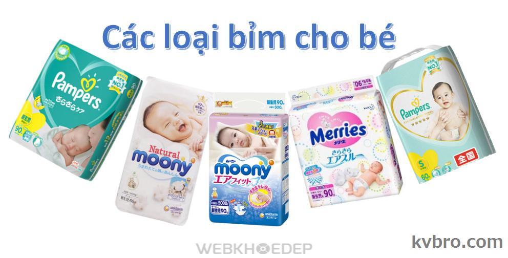 Bỉm, tã rất cần thiết khi bé vừa chào đời